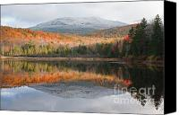 White Mountains Canvas Prints - Kiah Pond - Sandwich New Hampshire USA Canvas Print by Erin Paul Donovan