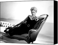 1950s Fashion Canvas Prints - Kim Novak, Columbia Pictures, 1950s Canvas Print by Everett