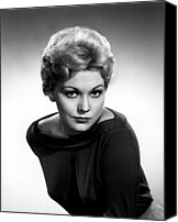 Publicity Shot Canvas Prints - Kim Novak, Columbia Pictures, 1956 Canvas Print by Everett