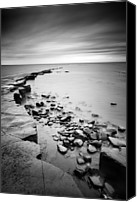 Nina Photo Canvas Prints - Kimmeridge Bay Canvas Print by Nina Papiorek