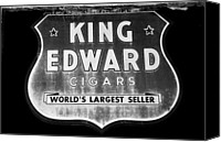 Cigars Canvas Prints - King Edward Cigars Canvas Print by David Lee Thompson