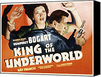 Francis Canvas Prints - King Of The Underworld, Kay Francis Canvas Print by Everett