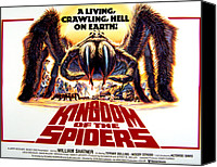 Horror Fantasy Movies Canvas Prints - Kingdom Of The Spiders, 1977 Canvas Print by Everett