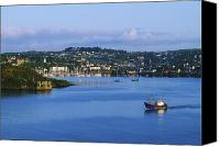 Corks Canvas Prints - Kinsale, Co Cork, Ireland Boat With Canvas Print by The Irish Image Collection 
