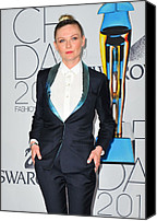 The 2011 Cfda Fashion Awards Canvas Prints - Kirsten Dunst At Arrivals For The 2011 Canvas Print by Everett