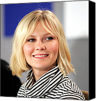 At The Press Conference Canvas Prints - Kirsten Dunst At The Press Conference Canvas Print by Everett