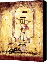 Faa Canvas Prints - Klee: Dance, 1922 Canvas Print by Granger