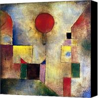 Cubism  Canvas Prints - Klee: Red Balloon, 1922 Canvas Print by Granger