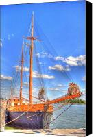Malmo Digital Art Canvas Prints - Know the Ropes Canvas Print by Barry R Jones Jr