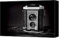 Camera Canvas Prints - Kodak Brownie Canvas Print by Scott Norris