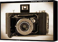 Film Camera Canvas Prints - Kodak Diomatic Canvas Print by Mike McGlothlen