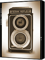 Mike Canvas Prints - Kodak Reflex Camera Canvas Print by Mike McGlothlen