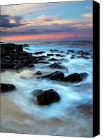 Sea Canvas Prints - Koloa Dawn Canvas Print by Mike  Dawson