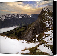 Alp Canvas Prints - Kp Canvas Print by Angel  Tarantella