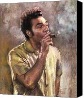 Cigars Canvas Prints - Kramer Canvas Print by Ylli Haruni