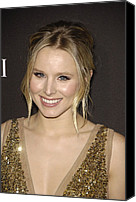 Updo Canvas Prints - Kristen Bell At Arrivals For 12th Canvas Print by Everett