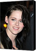 Kristen Stewart Canvas Prints - Kristen Stewart At Arrivals Canvas Print by Everett