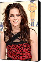 Mtv Canvas Prints - Kristen Stewart At Arrivals For 2009 Canvas Print by Everett