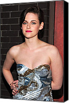 Kristen Stewart Canvas Prints - Kristen Stewart Wearing An Emilio Pucci Canvas Print by Everett