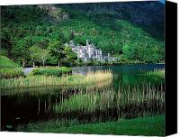 Monasticism Canvas Prints - Kylemore Abbey, Co Galway, Ireland Canvas Print by The Irish Image Collection