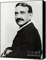 Fantasy Photo Canvas Prints - L. Frank Baum, American Author Canvas Print by Photo Researchers