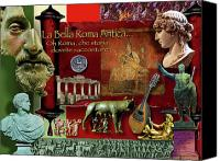 Brutus Canvas Prints - La Bella Roma Antica Canvas Print by Dean Gleisberg