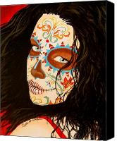 Dead Canvas Prints - La Belleza en el Viento Canvas Print by Al  Molina