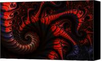 Clayton Canvas Prints - Labyrinth Canvas Print by Clayton Bruster