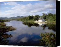 County Donegal Photo Canvas Prints - Lackagh River, Creeslough, County Canvas Print by The Irish Image Collection 