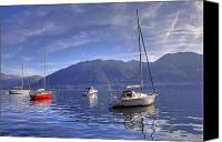 Lago Canvas Prints - Lago Maggiore Canvas Print by Joana Kruse