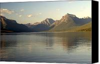 Marty Koch Canvas Prints - Lake and Mountains Canvas Print by Marty Koch