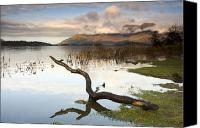 Ocean Front Landscape Canvas Prints - Lake Derwent, Cumbria, England Canvas Print by John Short