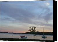 Lake Geneva Wisconsin Canvas Prints - Lake Geneva Canvas Print by Autumn Haupt