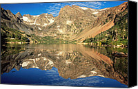 Continental Divide Canvas Prints - Lake Isabelle Canvas Print by Eric Glaser