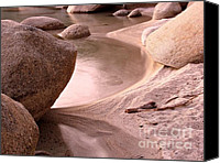 Beach Scene Canvas Prints - Lake Tahoe Calmness Canvas Print by Scott McGuire