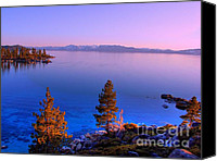 Village Canvas Prints - Lake Tahoe Serenity Canvas Print by Scott McGuire