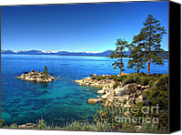 Sierra Canvas Prints - Lake Tahoe State Park Nevada Canvas Print by Scott McGuire