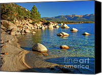Scott Canvas Prints - Lake Tahoe Tranquility Canvas Print by Scott McGuire