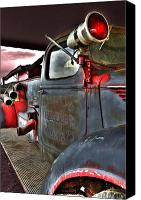 Siren Canvas Prints - Lakewood Mountair Fire Dept.  Canvas Print by Kevin Munro