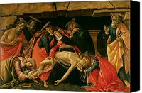 Magdalene Canvas Prints - Lamentation of Christ Canvas Print by Sandro Botticelli