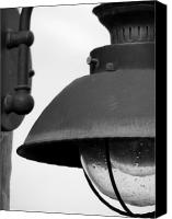 Amanda Barcon Canvas Prints - Lamp post Canvas Print by Amanda Barcon