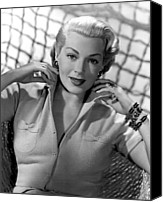 1950s Fashion Canvas Prints - Lana Turner, Mgm, 1952 Canvas Print by Everett