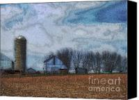 Pennsylvania Dutch Canvas Prints - Lancaster County PA Canvas Print by Jeff Breiman