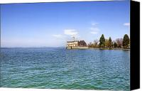 Lake Constance Canvas Prints - Langenargen Canvas Print by Joana Kruse