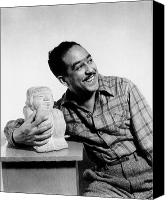 Harlem Canvas Prints - Langston Hughes (1902-1967) Canvas Print by Granger