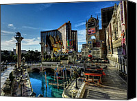Griffin Canvas Prints - Las Vegas 028 Canvas Print by Lance Vaughn