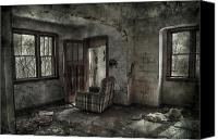 Creepy Canvas Prints - Last Days  Canvas Print by Jerry Cordeiro
