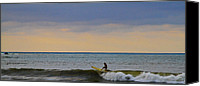 Sup Canvas Prints - Last Ride Canvas Print by Atom Crawford