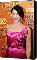 Golden Globe Canvas Prints - Lauren Graham At The After-party Canvas Print by Everett