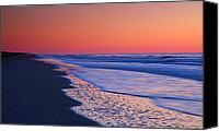 Assateague Canvas Prints - Lavender Sea I Canvas Print by Steven Ainsworth